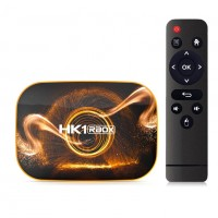 HK1 RBOX R1 4Gb/32Gb Android Tv Box( в комплекте Пульт Tooploo T2 Air Mous)