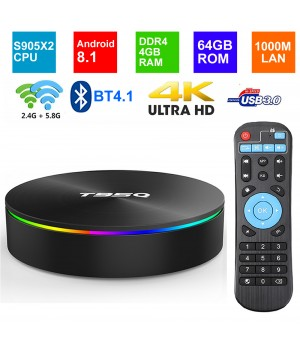 T95Q 4Gb/64Gb Android TV Box.