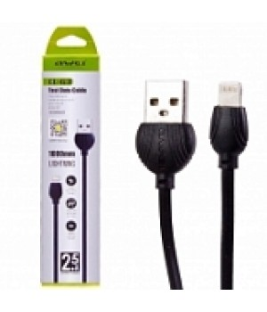 USB кабель Awei CL-63 Lighting, Black