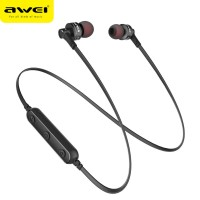 Беспроводные Bluetooth-наушники Awei B990BL Wireless Sports Earphone, Black